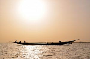 Rzeka Niger w Afryce